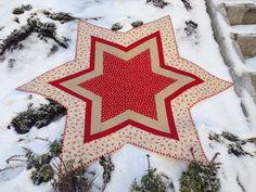 Liv Aagots Quilteblogg: Christmas Tree Carpet