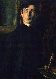 Portrait of Pavel Korin, Mikhail Nesterov