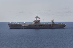 USS Blue Ridge, the command ship of the 7th Fleet.