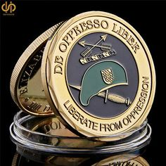 James Bond Gold Plated Medallion Coin in an Air Tight Capsule with Display Stand