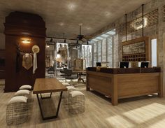 Rustic Meets Industrial In This Salon Central Java Erlangga Barat Vi 10