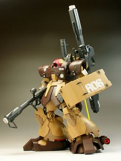 1/100 MS-09F/DTP06 Dom Tropen [The Maximum Full Equipment Type] - Customized Build Modeled by Yasue