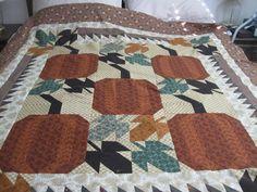 Cute Fall quilt - Thimbleberries design by Lynette Jensen
