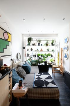 A Graphic, Geometric 500 Square Foot London Rental Flat