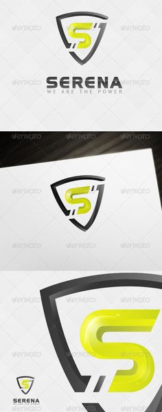 Security Power Logo (Abstract)