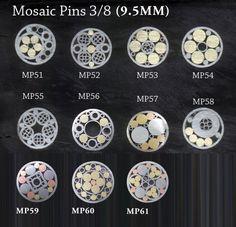 Mosaic Pins for Knife Handles.