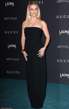 Southern comfort: Reese Witherspoon looked in fine form at the LACMA Art And Film Gala in ...