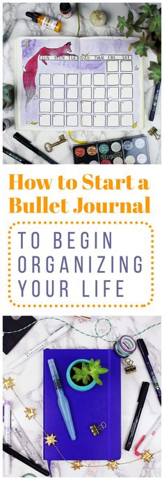 Wondering how to start a bullet journal? The Bullet Journal is a great tool for helping to keep you organized while still allowing you the flexibility to show off your creative side if you'd like. The Bullet Journal system helped me organize my life and re-embrace my artistic side. Check out how to start a bullet journal and ramp up your productivity! via @LittleCoffeeFox