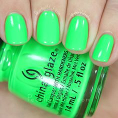 China Glaze Drink Up Witches | Ghouls Night Out Collection | Peachy Polish #green