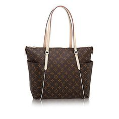 Authentic Louis Vuitton Monogram Canvas Totally MM Shoulder Bag Handbag Made in France