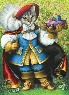 Puss-in-Boots by Lynn Bywaters (Der gestiefelte Kater)
