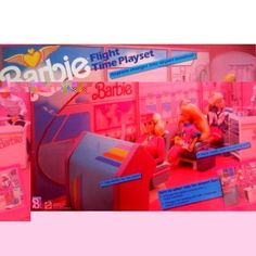 Barbie - Flight Time Playset - 1989 Mattel Barbie Games, Barbie Dolls, Toys, Activity Toys, Barbie Party Games, Clearance Toys, Gaming, Games, Barbie Doll
