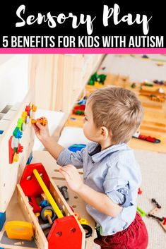 Sensory Play helps kids with autism in so many ways! If you're looking for help for your child with autism, then this is a must read. Whether you have a child with sensory processing disorder, autism, or other developmental delay, you need to read how and why sensory play activities are so important!