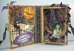 Artfully Musing: Witches - Shadow Box Book – Spells & Magic