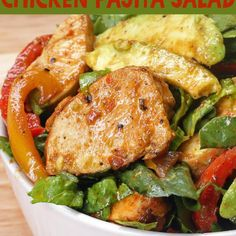This Chicken Fajita Salad Will Be So Perfect In Your Belly