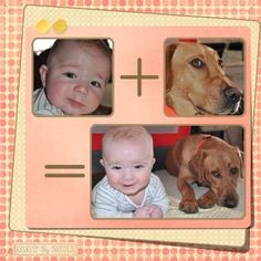 individuals = family, cousins = friends, spouses = perfect combination, Pettingills + Barnards = ? What else for a fun equation?