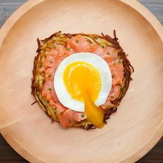 Rosti, Smoked Salmon, Egg