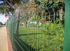 Welded Wire The height are available in a range of heights from 630 till 2430 mm. The panels have vertical barbs of 30 mm that can be placed at the top or at the bottom. Welded Wire Panels, Fence Panels For Sale, Palisade Fence, Mesh Fencing, Steel Fence, Chain Link Fence, Wire Mesh, Mesh Panel, In The Heights