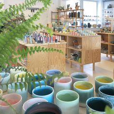 "Studio Arhoj (@studioarhoj) på Instagram: ""A pastel morning view of the Studio Design Store"""