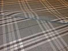 MODERN TARTAN PLAID SLATE GREY , CREAM & BLACK Nautical Bedroom, Cottage Furniture, Modern Lounge, Tartan Plaid, Slate, Upholstery, Grey, Living Room, Home Decor
