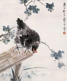 #MasterJiangHanTing #ChineseInkPainting #FlowerAndBirdBrushPainting