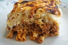 (Skip to Recipe) What makes this Pasticcio Recipe Authentic? Greek restaurants all over the world prepare Pasticcio (also known as Pastitsio or Pastichio).  Not surprisingly, families and taverns all over Greece also make it.  Most families follow a recipe passed on to them by a dear family member and then adjusted over time to satisfy personal taste.   What is Pasticcio? Those unfamiliar with Pasticcio may wonder what is this romantic-sounding dish.  The easiest way to describe it would be…