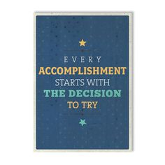 Accomplishment Print, £19, now featured on Fab.