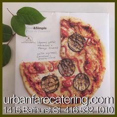 #urbanfarecatering Pecorino Cheese, Grilled Vegetables, Pepperoni, Catering, Grilling, Pizza, Lunch, Social Media, Projects
