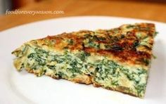 Baked Spinach Frittata by jill