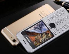 Full Metal Body Ultra Thin Dual Sim Cellphone