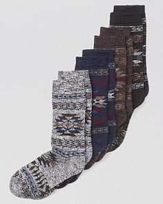 HUE Tribal Boot Socks...cute with combat boots