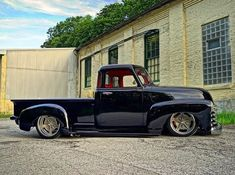 Hot Wheels - Damn Mike Little's Chevrolet 3100 is so smooth, one cool truck! #chevrolet #gmc #3100 #airsuspension #bagged #stance #hotrod #carporn #chopped #layframe #lowfastfamous