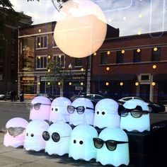 Try adding a school of ghosts to your eyewear display.