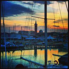 #Civitanova Marche, Italy... magico tramonto... ottobre 2014...