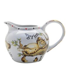 Look at this Alice in Wonderland Cream Pitcher on #zulily today!