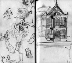 sketchbook by deanna staffo, via Behance