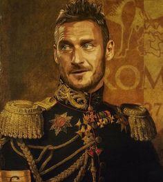 Totti AS Roma Pupazzaro