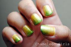 Gradient Finger Nails