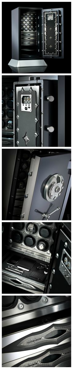 The first stroke along the fine Damascus steel texturing of a sleek dagger and the seed was planted. The Damascus Limited Edition Watch Winder Safe had to be created. The ultimate luxury safe made for the connoisseur of time.