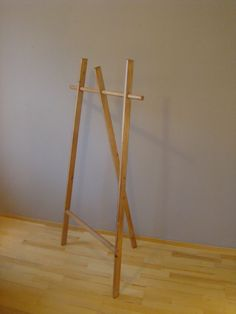 Hey, I found this really awesome Etsy listing at https://www.etsy.com/dk-en/listing/211523805/wooden-clothing-rack-pikku-motso