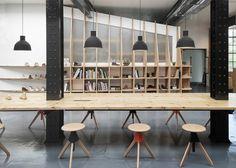 ARRO Studio creates Clarks Originals HQ in old warehouse.
