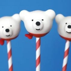 The cutest polar bear cake pops recipe and tutorial
