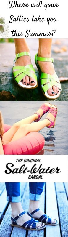 Welcome to the official Salt-water sandals shop for Europe & East Asia. Discover the complete collection of Salt-Water and Sun-San Sandals including all the newest styles and colours. Leather Sandals Flat, Flat Sandals, Sun San Sandals, Salt And Water, Swimmers, Casual Wear, Daisy, Anna, Dressing