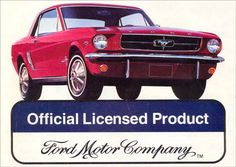 2692FORD - MUSTANG - Official Licensed Product -S - 41x29- Ford Mustang, Us Cars, Motor Company, Dream Cars, Dreams, Ford Mustangs