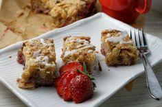 Strawberry-Almond Coffee Cake