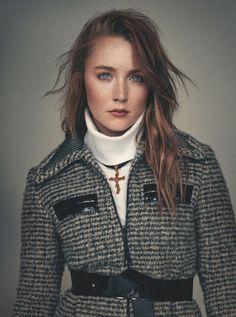 Saoirse Ronan - Wonderland Magazine - September 2014 Issue