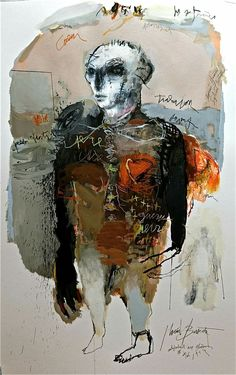 Jean Louis Bessede Art Intervention, Thing 1, Figurative Art, Master Chief, Modern Art, Abstract Art, Sculptures, Collage, Fine Art