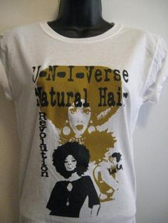 U-N-I -Verse Natural Hair Revolution T SHIRT