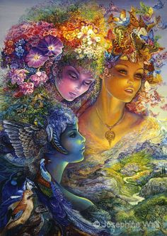 Josephine Wall Fantasy Art | Josephine Wall : Featured Artists : Home : Fantasy and mystical art ...