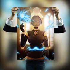 League of Legends Orianna Fanart Poster (Original Artwork)